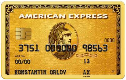Карта «American Express Gold»
